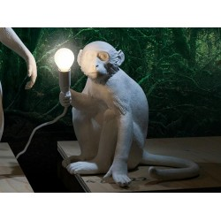 Monkey Lamp sitting Seletti design