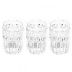 Set de 3 verres machine collection