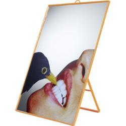 Miroir toiletpaper crow par seletti