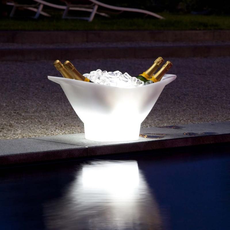 Seau champagne lumineux porte bouteilles champagne - Porte seau a champagne ...
