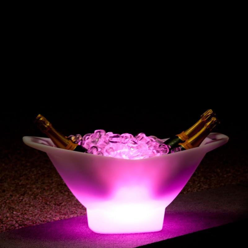 Seau champagne lumineux porte bouteilles champagne for Porte seau a champagne