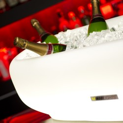 seau à champagne lumineux Over size , porte-bouteilles  MIGHT-E, Imagilights