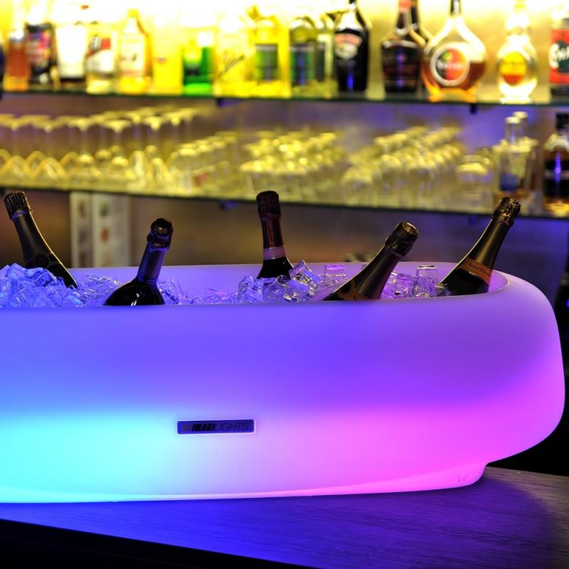 Seau champagne lumineux over size might e imagilights - Porte seau a champagne ...