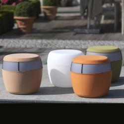 tabouret lumineux sans fil BARELLO par IMAGILIGHTS