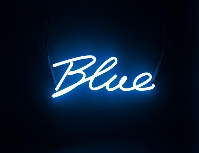 Applique shades neon blue seletti