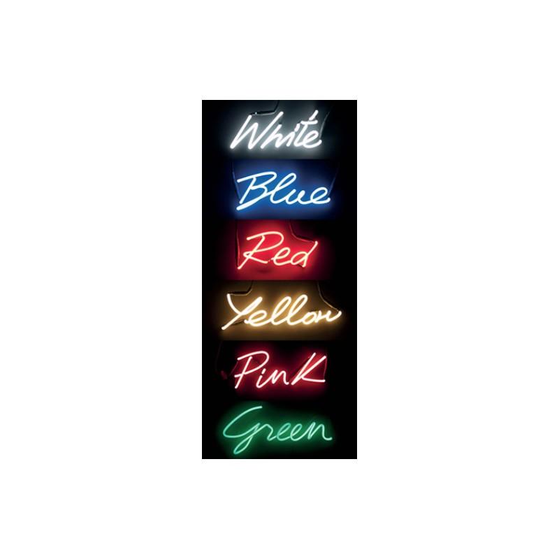 applique shades neon blue seletti. Black Bedroom Furniture Sets. Home Design Ideas