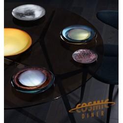 Assiette plate PLUTON Cosmic Diner-Diesel Living pour SELETTI