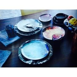 Assiette plate Cosmic Diner Jupiter Diesel living pour Seletti wears