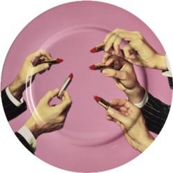 Assiette Céramique Toiletpaper Lipstick