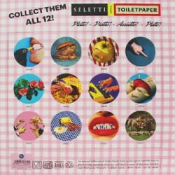 Assiette Plate Toiletpaper LIPSTICK Seletti