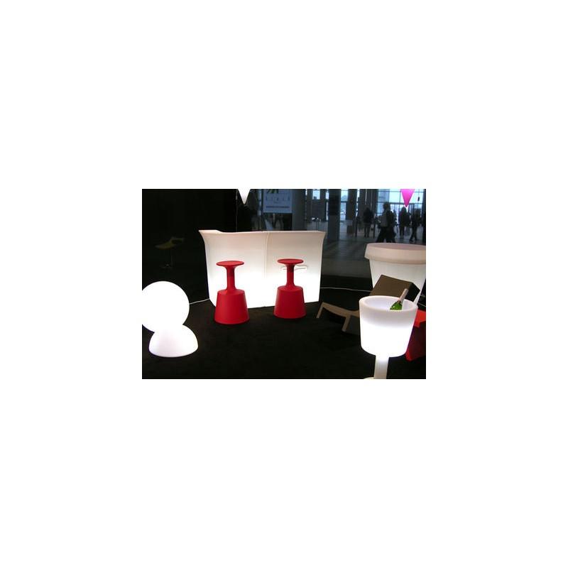 Porte bouteilles lumineux light drink de slide design - Porte seau a champagne ...