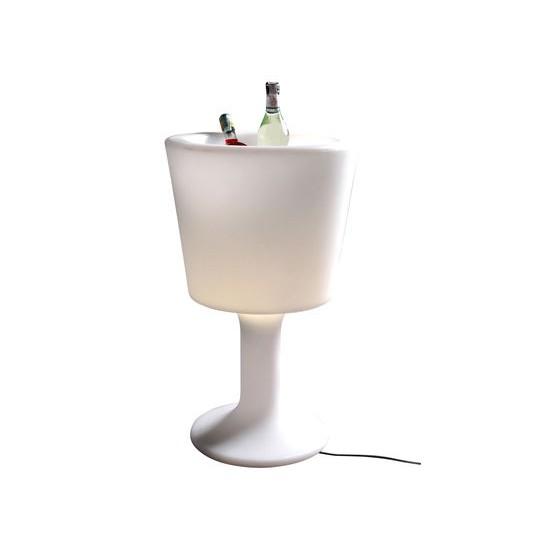 Porte bouteilles lumineux light drink de slide design - Seau champagne lumineux ...