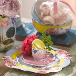 Assiette à dessert collection ROYAL PIP STUDIO