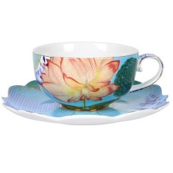 Tasse à thé avec sous-tasse Royal collection PIP STUDIO