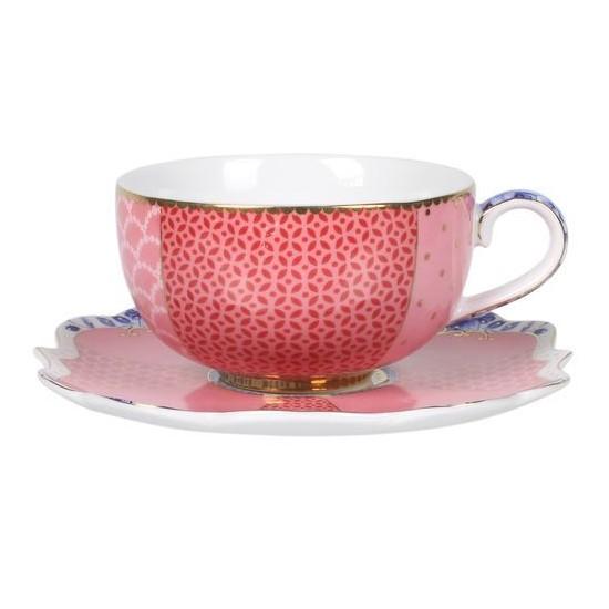 tasse à café et sa sous-tasse royal collection pip studio