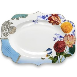 Plat de service ovale de 24 cm Royal collection pip studio