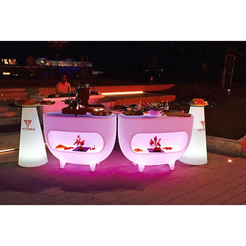 Bar lumineux splay marque slide design mobilier lumineux for Marque mobilier design