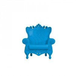 Fauteuil queen of love bleu/ design of love