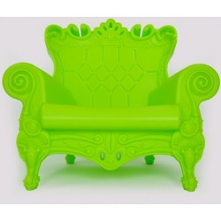 Fauteuil little queen of love vert