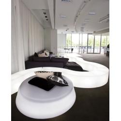 Sofa lumineux GIO POUF de slide