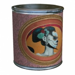 tabouret - coffre CALAVERA PINK trendy tub