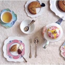 Set de 2 petites assiettes  de 17 cm, assiette à pain Royal collection pip studio