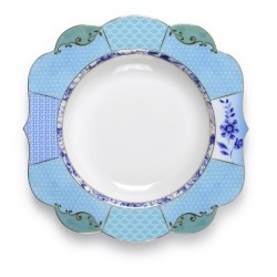 Assiette creuse collection ROYAL bleu- PIP STUDIO