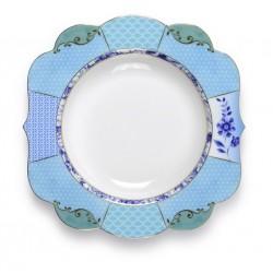 Assiette creuse collection ROYAL bleu