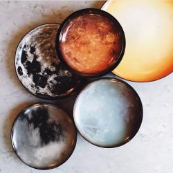 Assiette plate Cosmic Diner Mars Diesel Living pour SELETTI WEARS