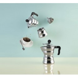 Cafetière Italienne MOKA / 6 tasses Marque ALESSI/