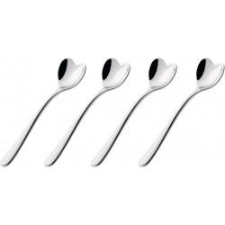 """Set de 4 cuillères à café """"IL CAFFÉ""""-ALESSI"""