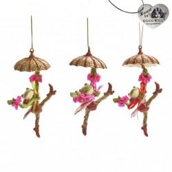 Décoration de Noel Frog Umbrella/GOODWILL