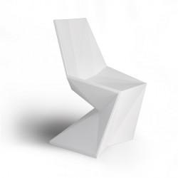 Chaise Vertex SILLA blanche