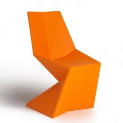 Chaise Vertex SILLA Orange-VONDOM