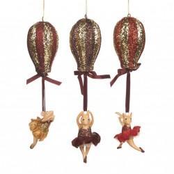 "Décoration de noel Bettina ""le voyage en ballon""-Goodwill"