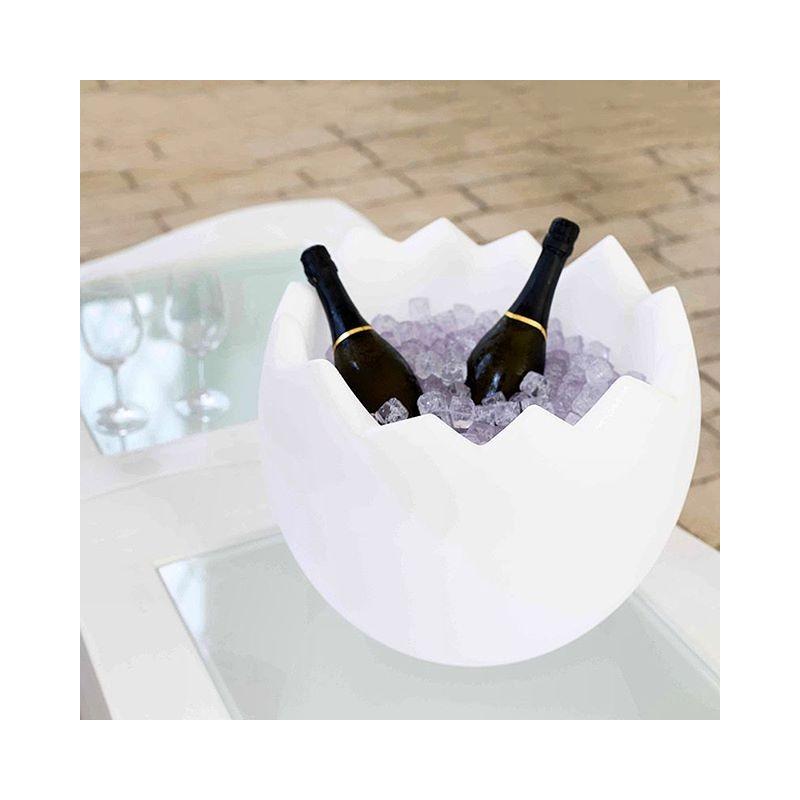Kalimera seau champagne lumineux porte bouteilles - Porte seau a champagne ...