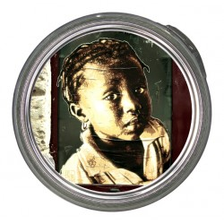 Plateau-tableau Little Black Girl-Trendytub