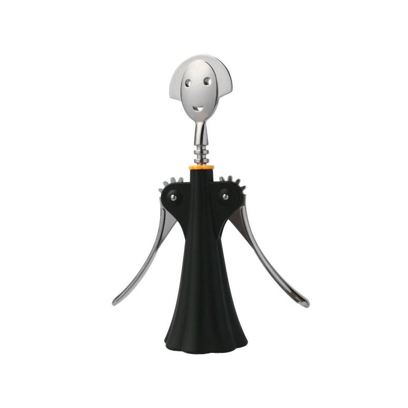 tire bouchon alessi mod le anna couleur noir marque alessi. Black Bedroom Furniture Sets. Home Design Ideas