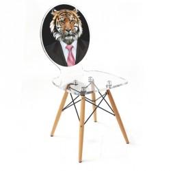 chaise graph Tigre ACRILA