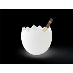 Seau à champagne lumineux sans fil Kalimera  Slide Design.