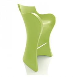 Tabouret Haut WOOPY Vert- B-LINE