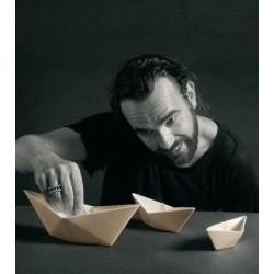 Décoration MEMORABILIA MY BOAT, 3 bateaux en porcelaine-SELETTI