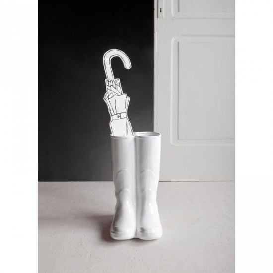 Porte parapluie rainboots marque seletti objet design - Porte parapluie exterieur ...