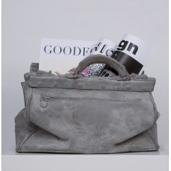 Décoration SAC ciment  , pot, Porte revues Collection Concrete