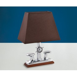 Lampe de table, esprit yachting  H33 cm