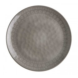 6 Assiettes creuse en mélamine coconut collection Rosette-Marine Business