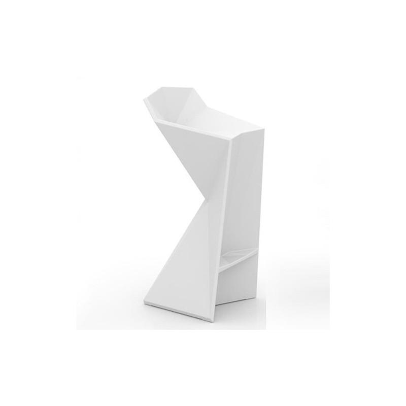 tabouret haut design vondom vertex karim rashid marque blanc. Black Bedroom Furniture Sets. Home Design Ideas