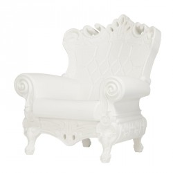 Fauteuil Queen of Love Blanc