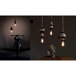 Suspension design MEK 2 bronze, Karman