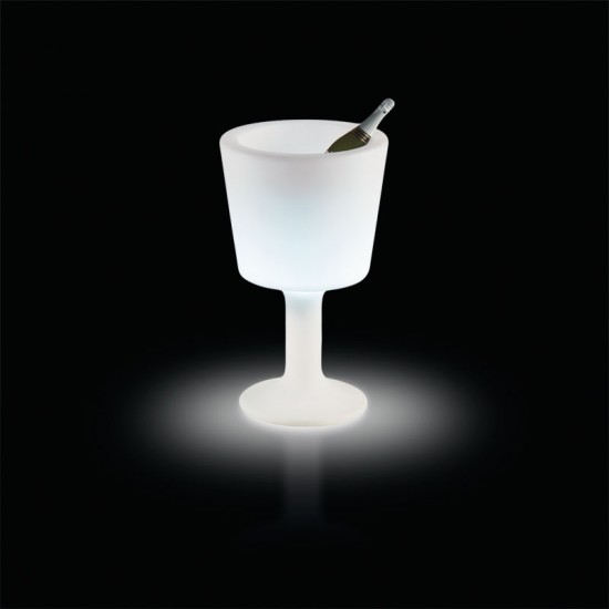 seau lumineux sans fil LIGHT DRINK SLIDE DESIGN